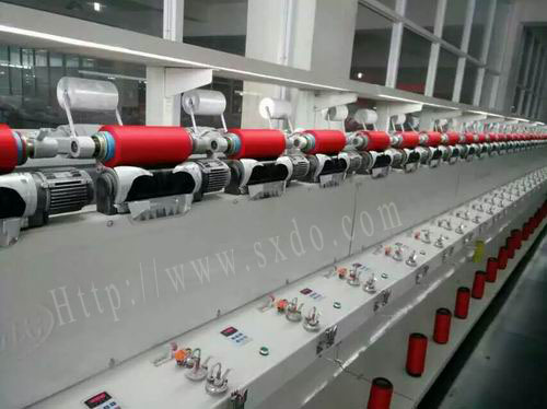 Tube bobbin winding machine