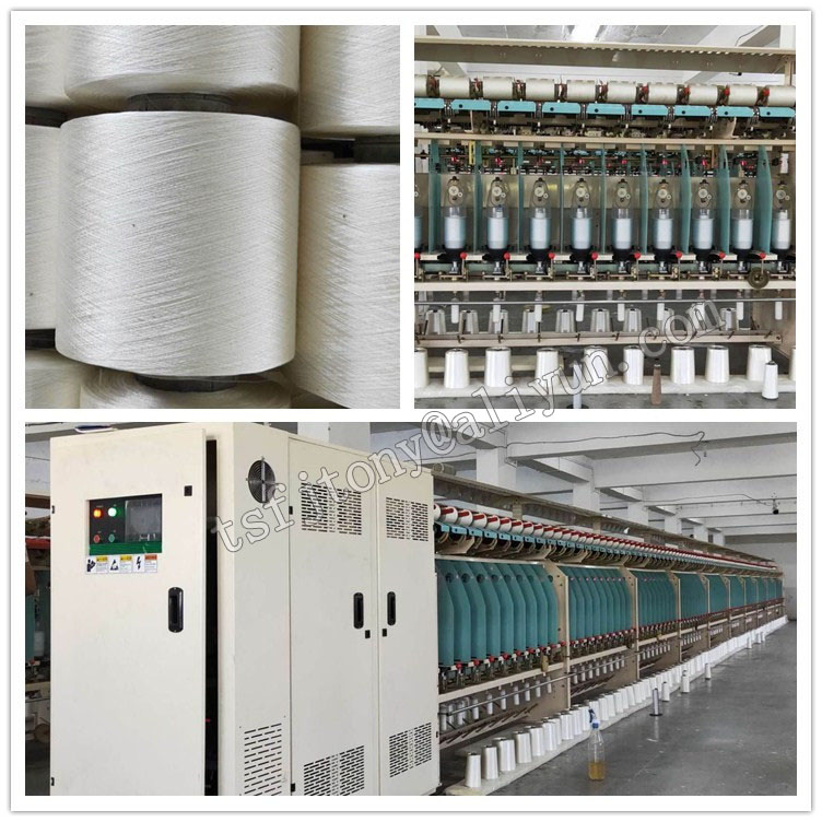 Viscose yarn twisting machine